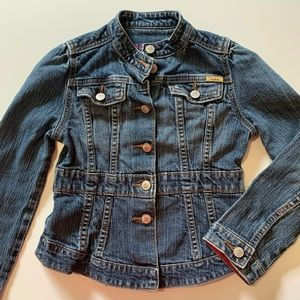 Levi's Girls Denim Jacket Blue Size M